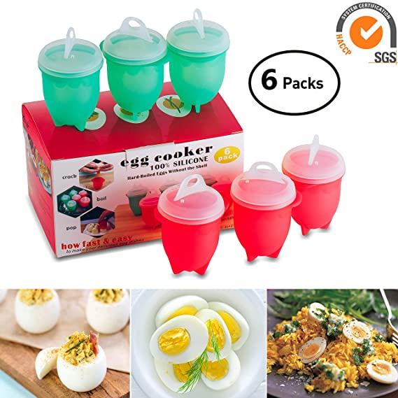 Review Silicone Egg Cooker and
