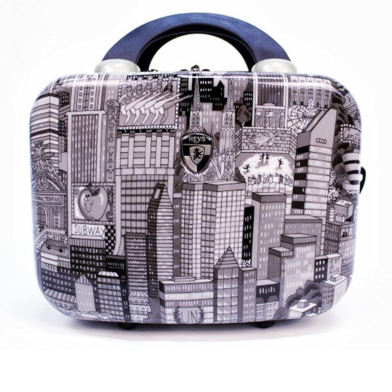... 50% SALE ... PREMIUM DESIGNER Hartschalen Koffer - Heys Künstler Fazzino Manhattan - Beauty-Case