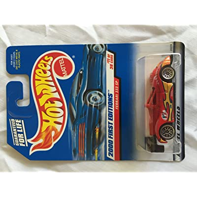 Hot Wheels 2000: First Editions : Ferrari 333 SP 1/64 scale (11 of 36 Collector #071): Toys & Games