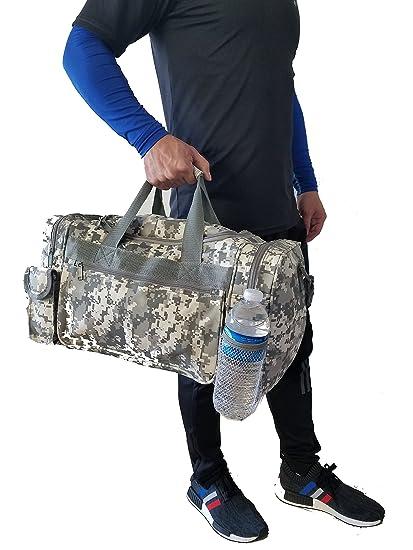 3776e6ed0175 Amazon.com : ImpecGear Travel ACU Duffel Camouflage Bag, Gym ...