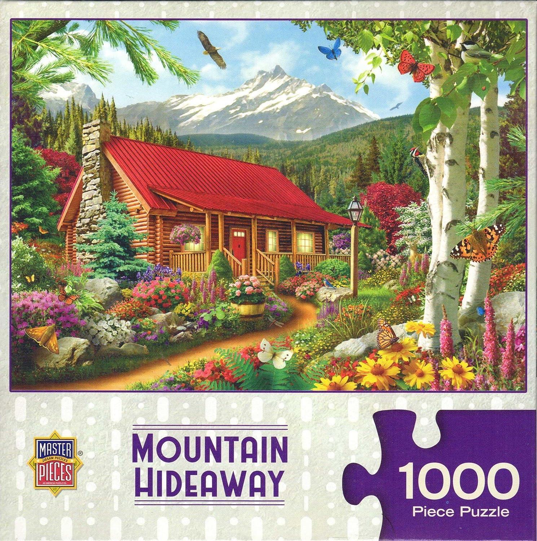 【在庫有】 Mountain Hideaway by by Alan Mountain Giana 1000 1000 Pieceパズル B07FFL9RRY, イセサキシ:4c5f1a01 --- 4x4.lt
