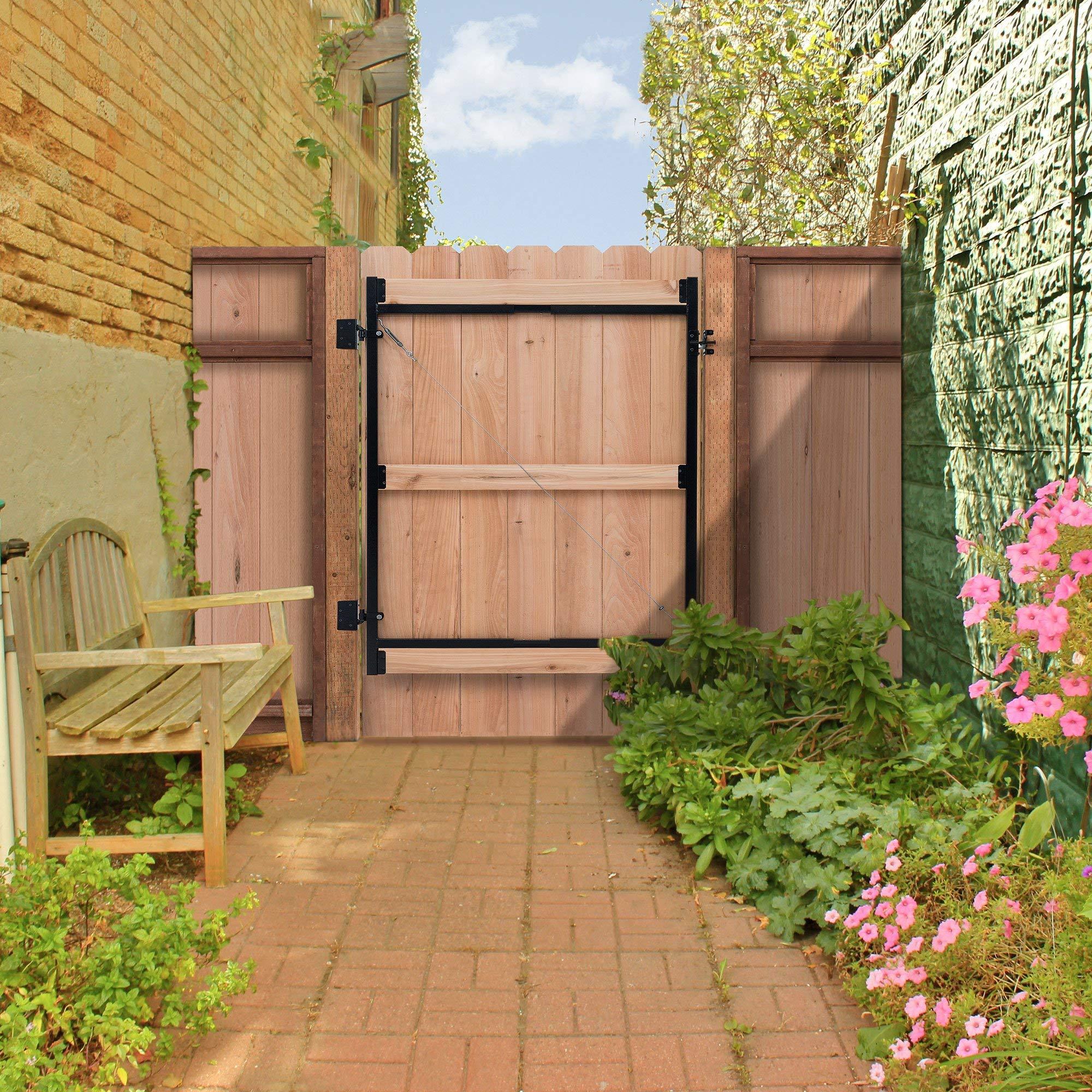 Adjust-A-Gate Steel Frame Gate Building Kit, 60''-96'' Wide, 6' High (2 Pack) by Adjust-A-Gate (Image #7)