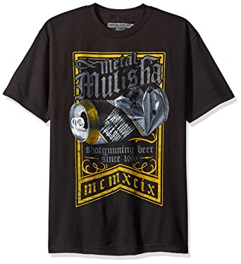 Amazon.com  Metal Mulisha Men s Plus Size Shotgun Tee  Clothing d1eb42ca3