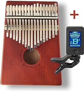 Sweepstakes: New Kalimba 17 Keys Thumb Piano + Bonus…
