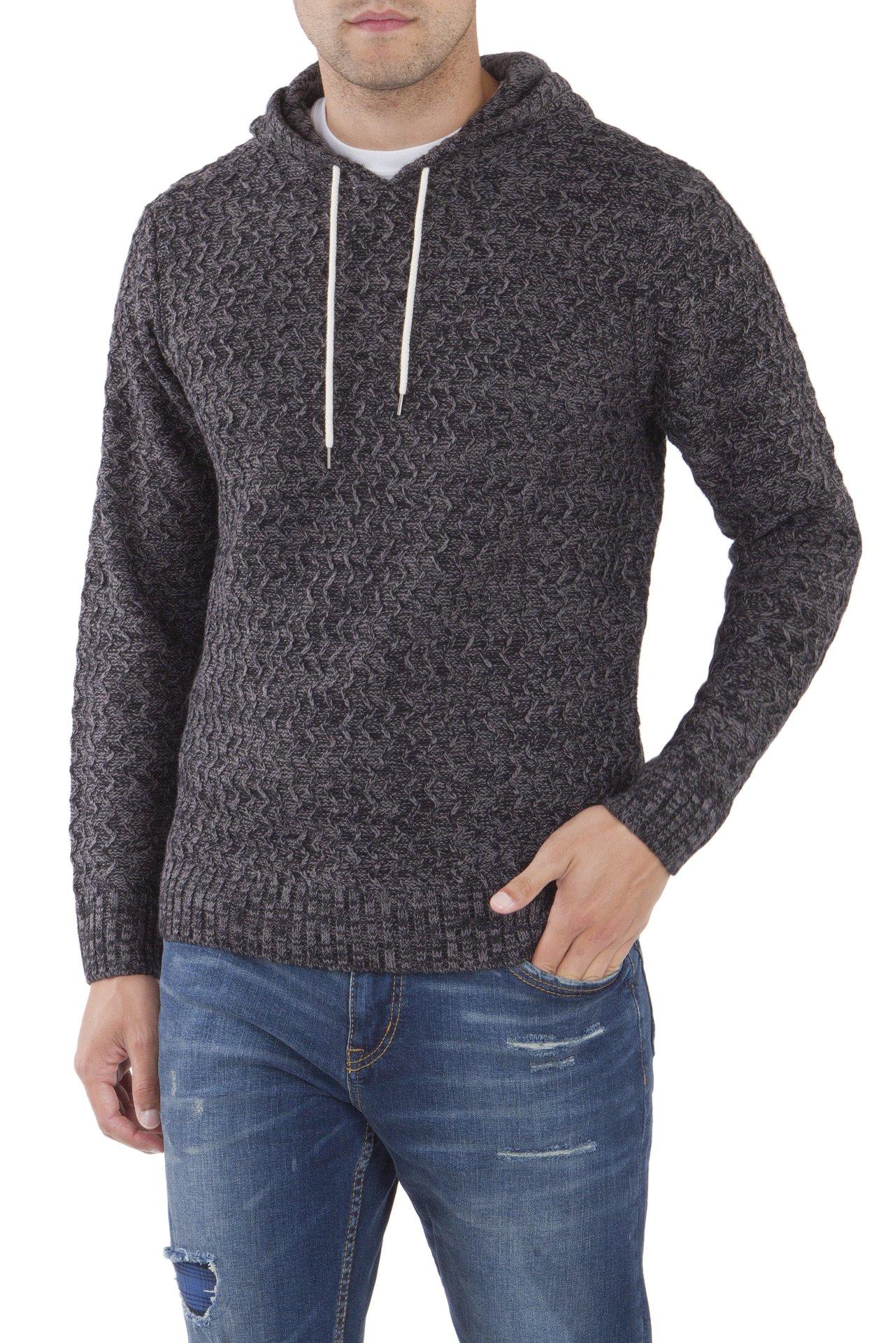 UNIONBAY Men's Drawcord Sweater