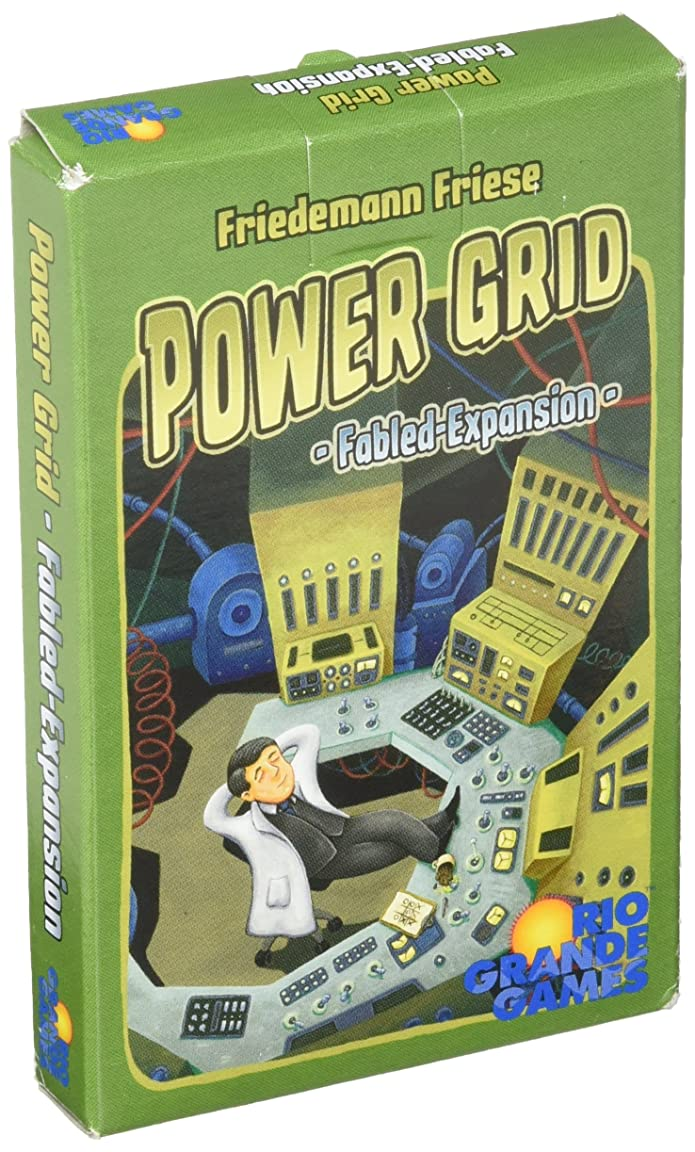 Power Grid Fabled Expansion Strategy Board Game Rio Grande Games RIO548