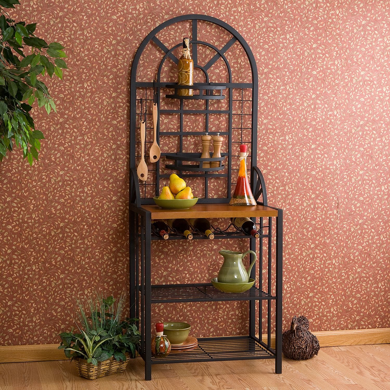 Dome Bakers Rack by Southern Enterprises (Image #3)
