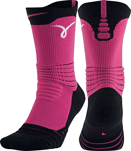 bcecc9a5e66d5 Nike Kay Yow Elite Versatility Crew Basketball Sock