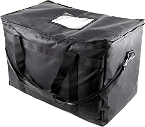 SB Organics Large Commercial Insulated Thermal Food Delivery Bag - Waterproof Bag Great for Grocery Shopping, Catering Supplies, and Food Transportation - Keep Food Warm or Cool - 22 x 13 x 13