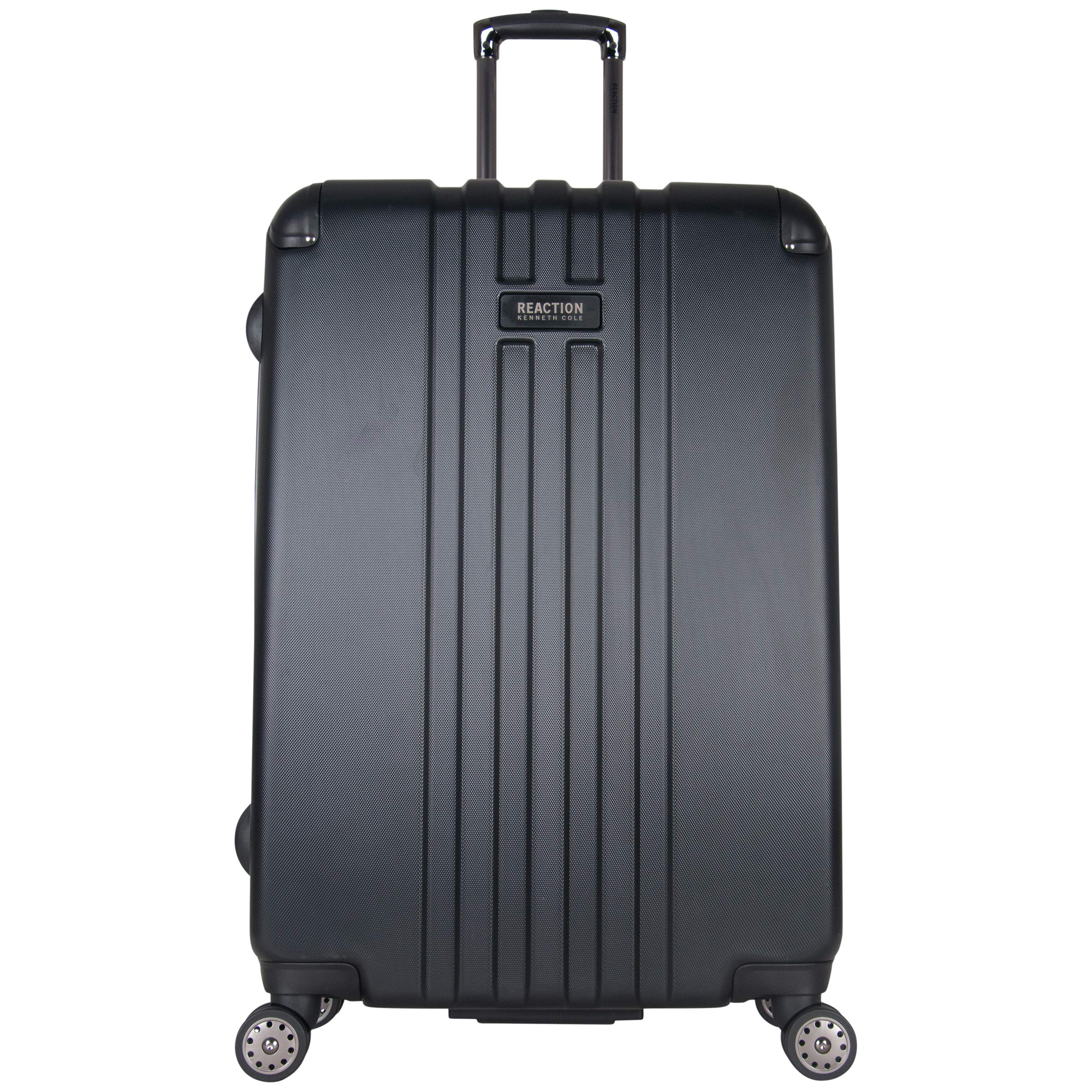 Kenneth Cole Reaction Reverb 29'' Hardside Expandable 8-Wheel Spinner Checked Luggage, Black