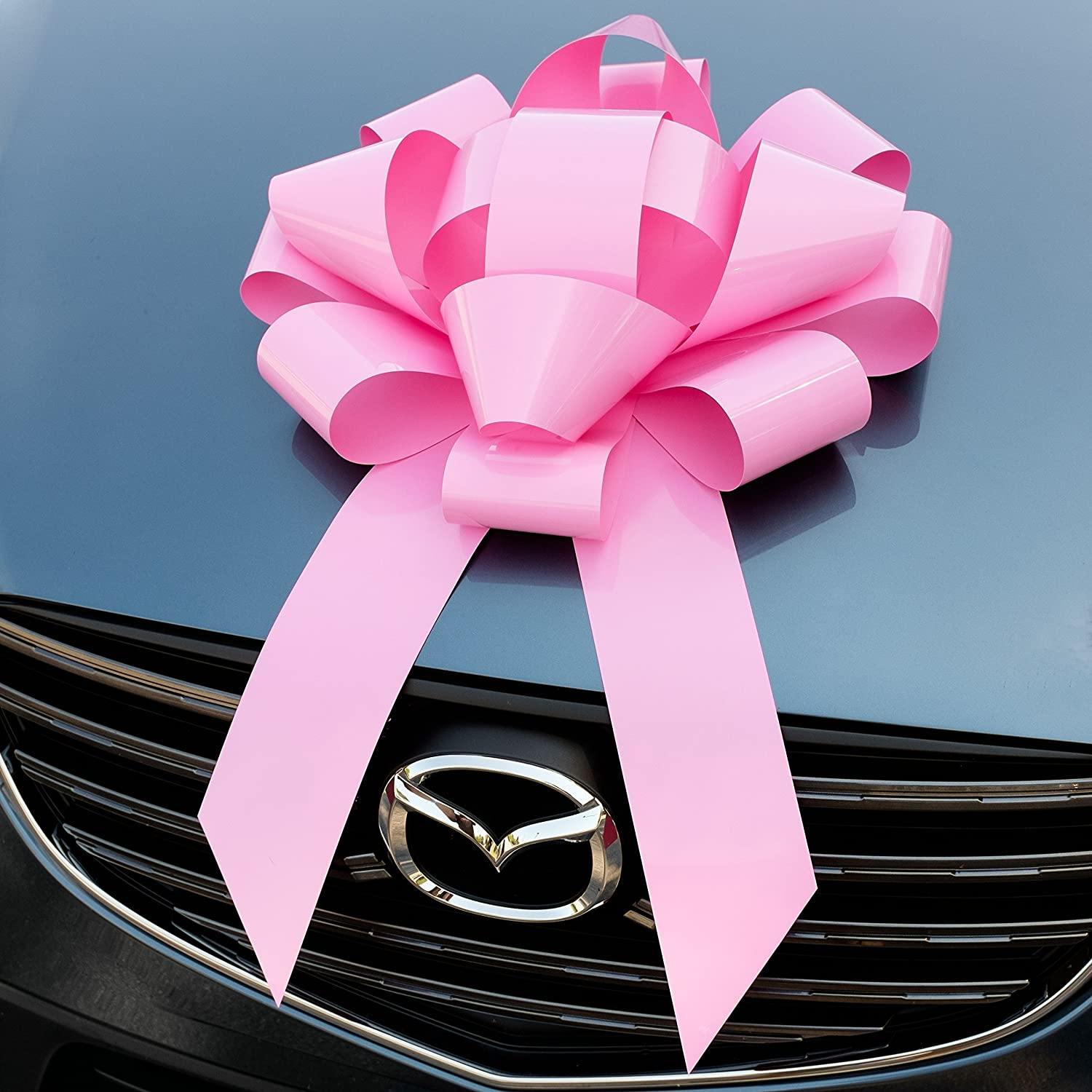 Pink Car Bow No Assembly Required Big Magnetic Bows