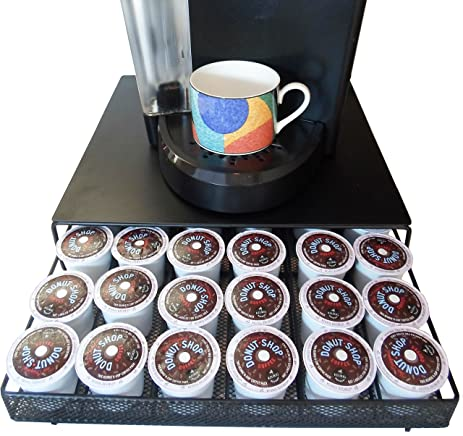 Neat O Coffee Pod Storage Drawer Holder For 36 Keurig K Cup, Black
