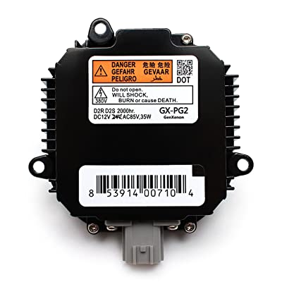 Replacement for Infiniti and Nissan Xenon HID Ballast Headlight Control Unit Replaces NZMNS111LANA, NZMNS111LBNA, 28474-89904, 28474-89907, 28474-8991A: Automotive