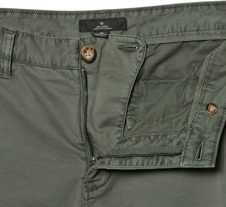 Rip Curl Savage Chino Pant 34 inch Dark Olive