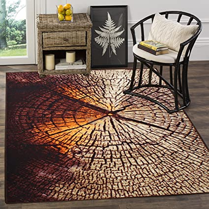 Cloth Fusion Premium Quality Made in Egypt Carpet for Drawing Room (5x7 Feet)