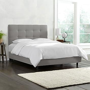 tufted bedroom furniture. Skyline Furniture Tufted Bed, King, Linen Grey Bedroom N