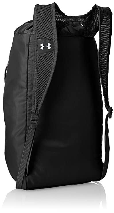 fabf59957f6 Under Armour Trance Polyester Black Drawstring Bag (1248867-001)   Amazon.in  Bags, Wallets   Luggage