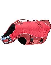 Kurgo Surf N Turf(TM) Dog Life Jacket, Red, Large