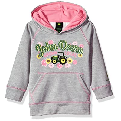 John Deere Baby Girls' Fleece Pullover Poly Tech Hoody
