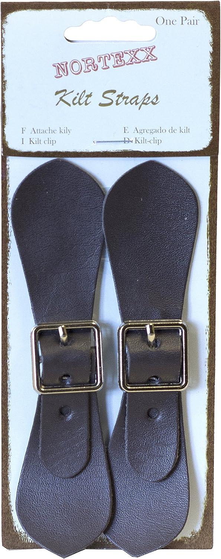 Nortexx - Hebilla de Falda Escocesa, 1 par, Color Negro: Amazon.es ...