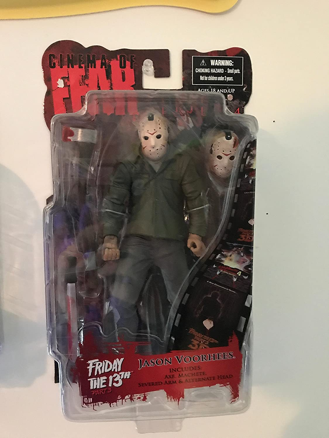 Mezco Toys One:12  Friday The 13th Part 3 Jason Voorhees Action Figure
