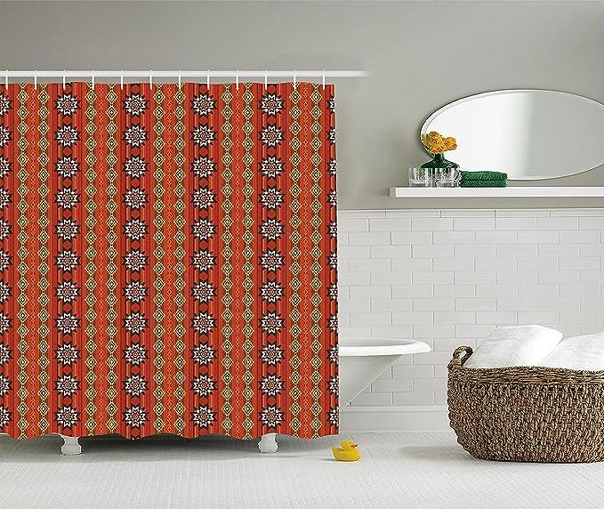 Decoración diseño de la Sirenita cortina de ducha Set por ...