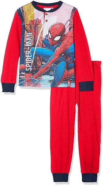 nuovo concetto 262b1 d6594 Disney Spiderman, Pigiama Bambino, Rosso, 8 Anni (Taglia ...