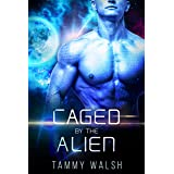 Caged by the Alien: A Scifi Alien Romance (Fated Mates of the Titan Empire Book 2)