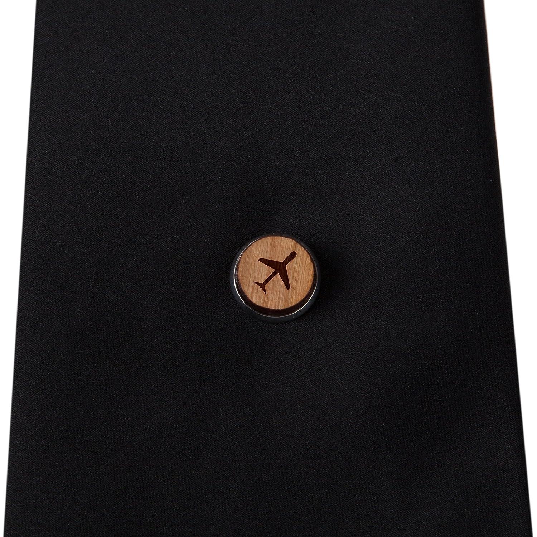 Engraved Cow Tie Tack