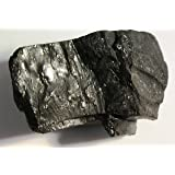 Black Anthracite Coal - 2 Raw Pieces of Rock