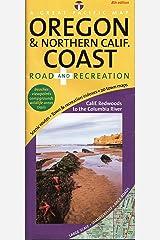 Oregon & Northern California Coast Road & Recreation Map, 8th Edition Map