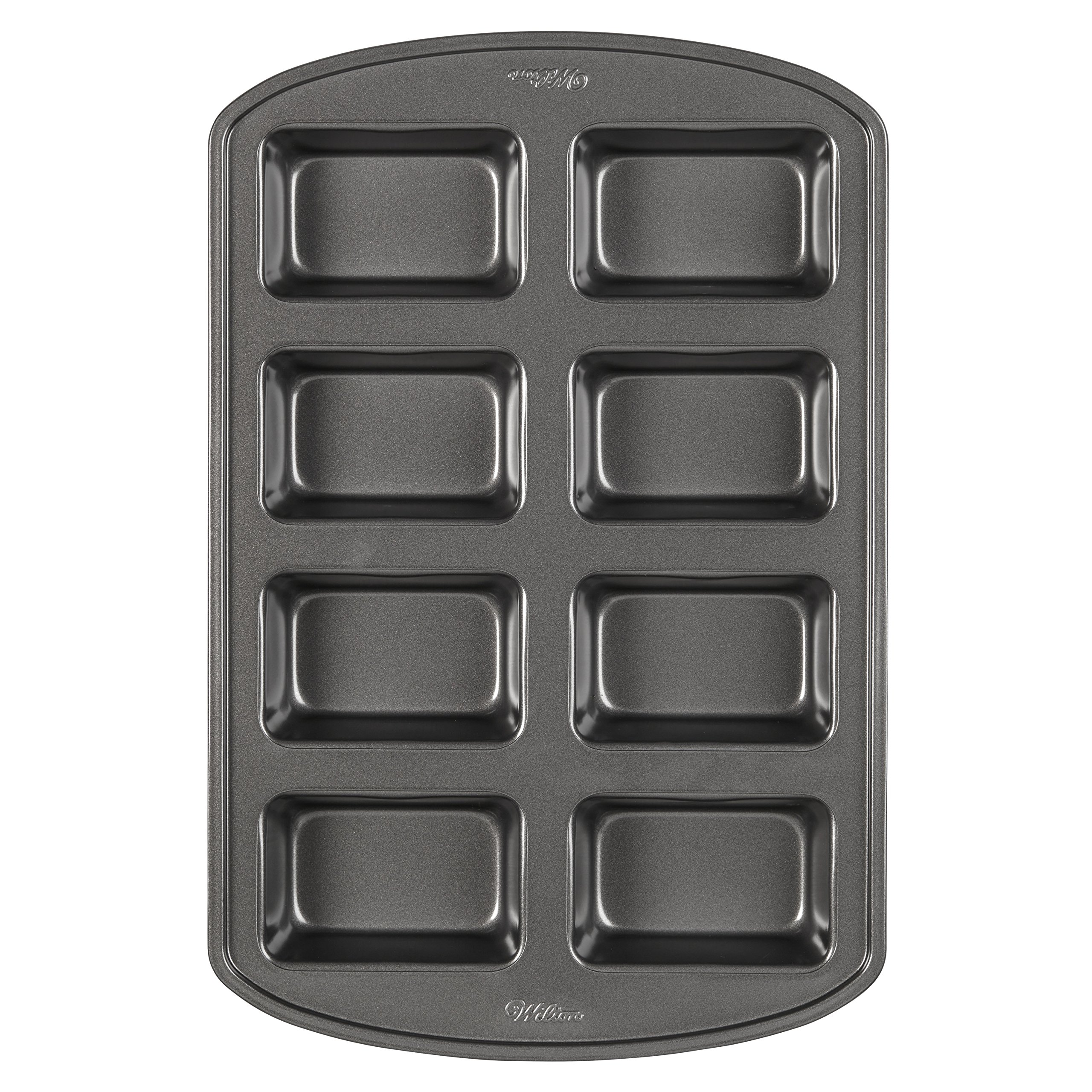 Wilton Perfect Results Non-Stick Mini Loaf Pan, 8-Cavity by Wilton