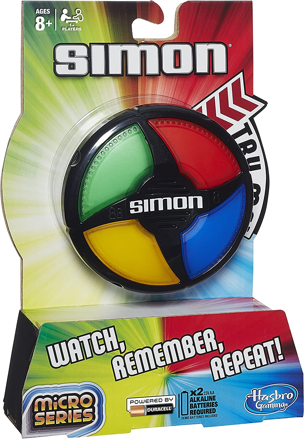 Hasbro Gaming - Simon Micro Series, Juego de Mesa (B0640): Amazon ...