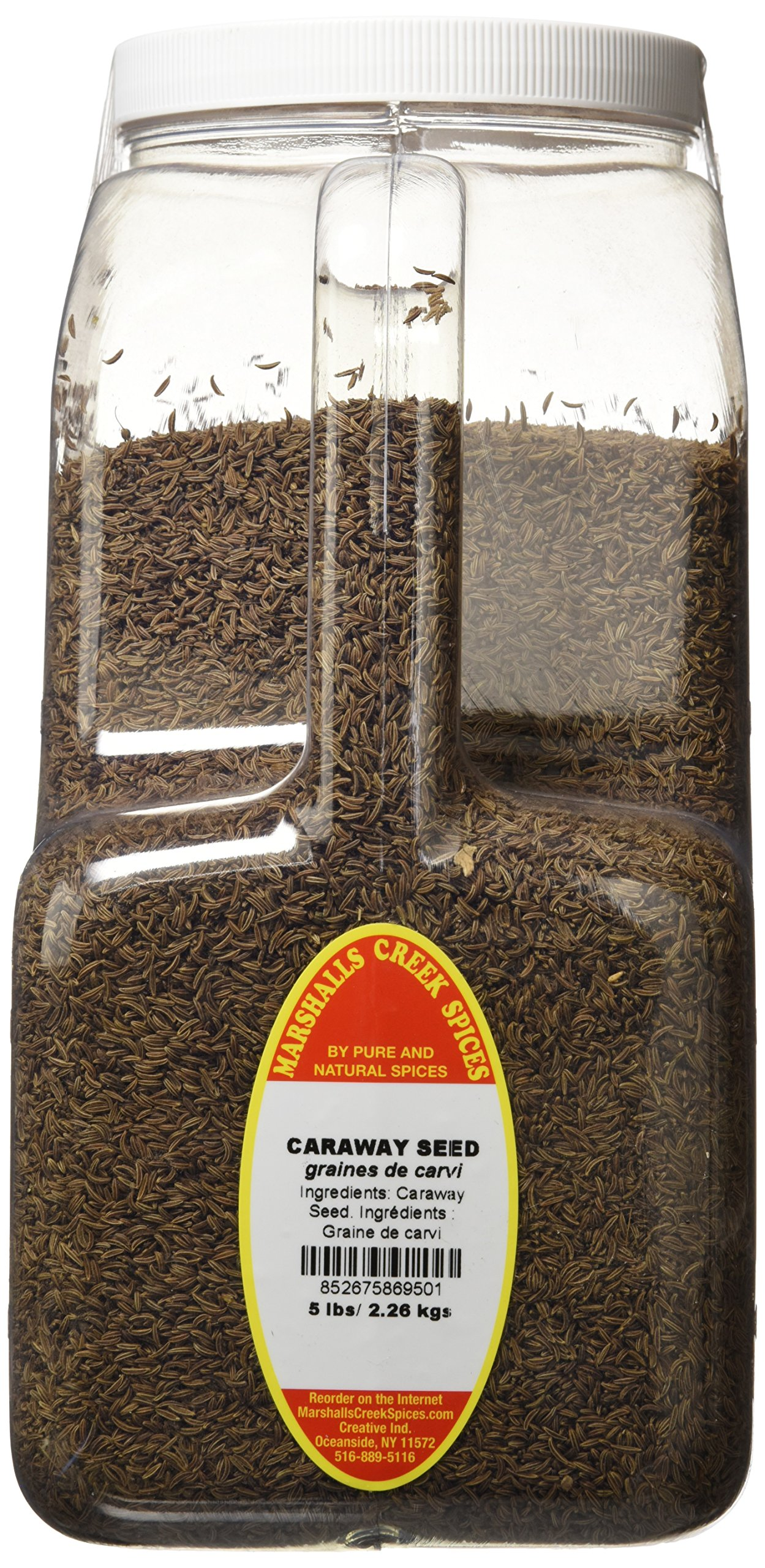Marshalls Creek Spices Caraway Seed Whole, XX-Large, 5 Pound by Marshall's Creek Spices (Image #1)