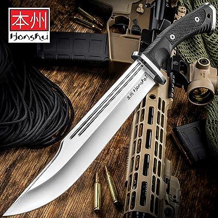 Amazon.com: Honshu Conqueror - Cuchillo y lámina de acero ...