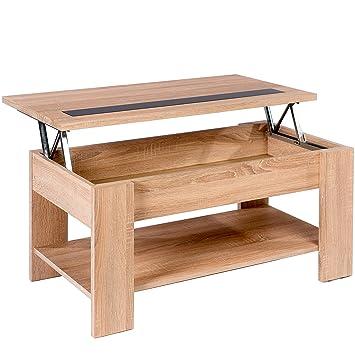 Studio Decor Julia Table Basse Relevable En Bois 100 X 49 8 X 45 8