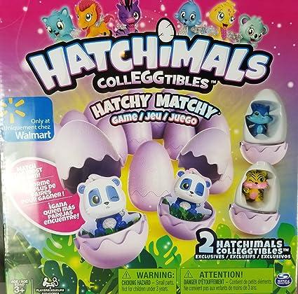 Hatchimals Colleggtibles Hatchy Matchy Game Walmart Exclusive Version W 2 Exclusive Figures