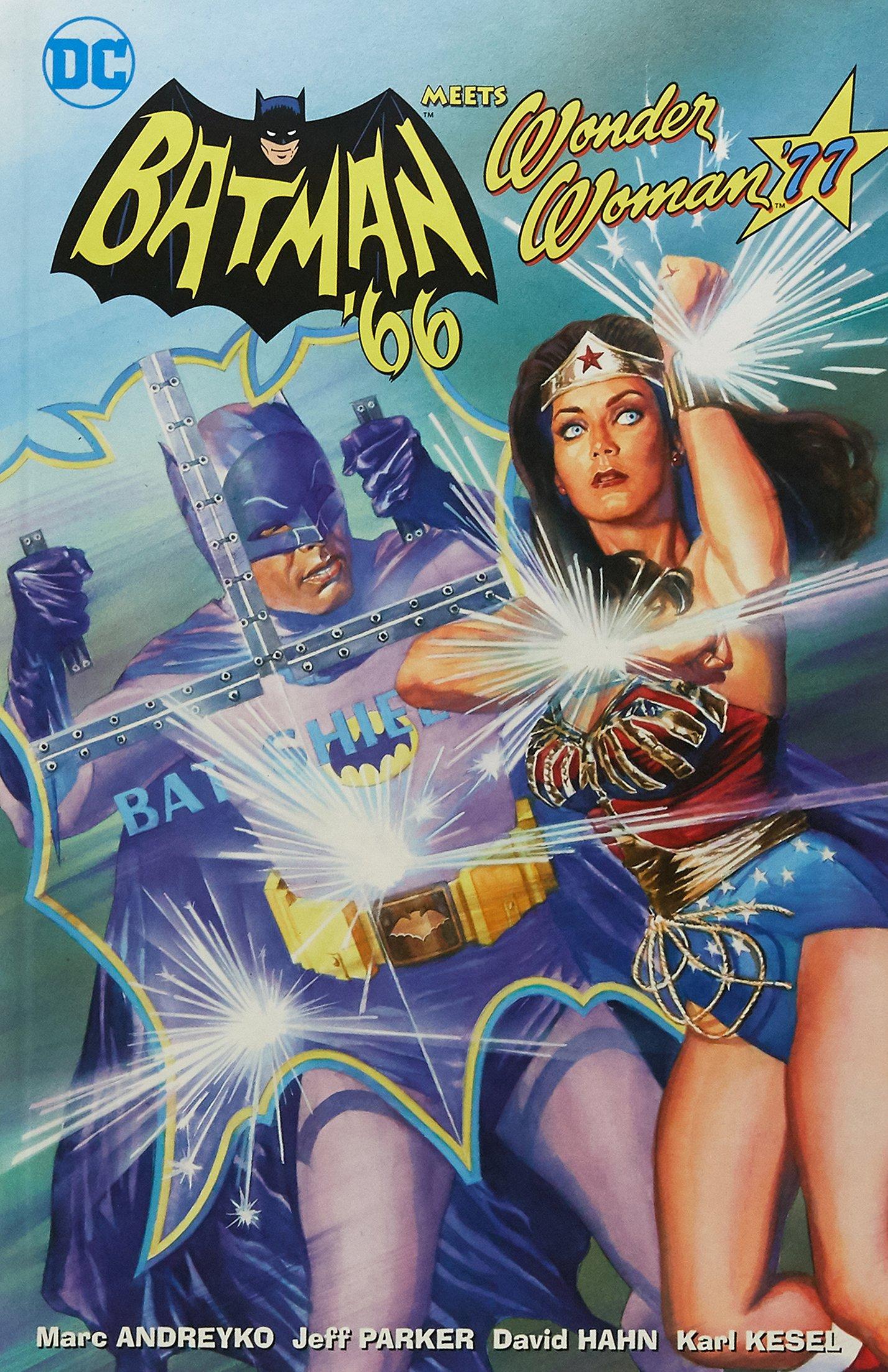 Batman \'66 Meets Wonder Woman \'77: Amazon.de: Jeff Parker, Marc ...