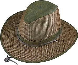 Henschel Crushable Soft Mesh Aussie Breezer Hat d34e7390c2f8