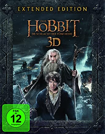 Der Hobbit 3 Die Schlacht Der Fünf Heere Extended Edition 3d Blu