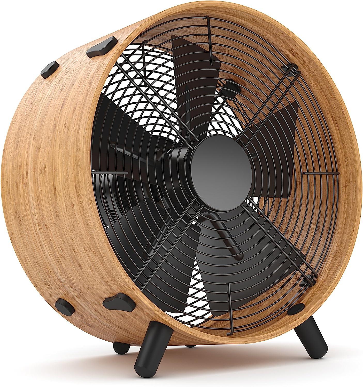 Stadler Form O-009E Ventilador, 45 W, 220 V, Negro, Madera, 350