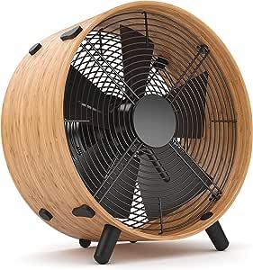 Stadler Form O-009E Ventilador, 45 W, 220 V, Negro, Madera, 350 ...