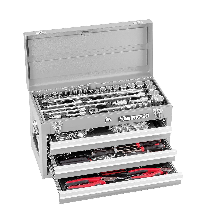 トネ(TONE) ツールセット TSX950SV 差込角9.5&12.7mm シルバー 内容86点 B002P8UAKK シルバー