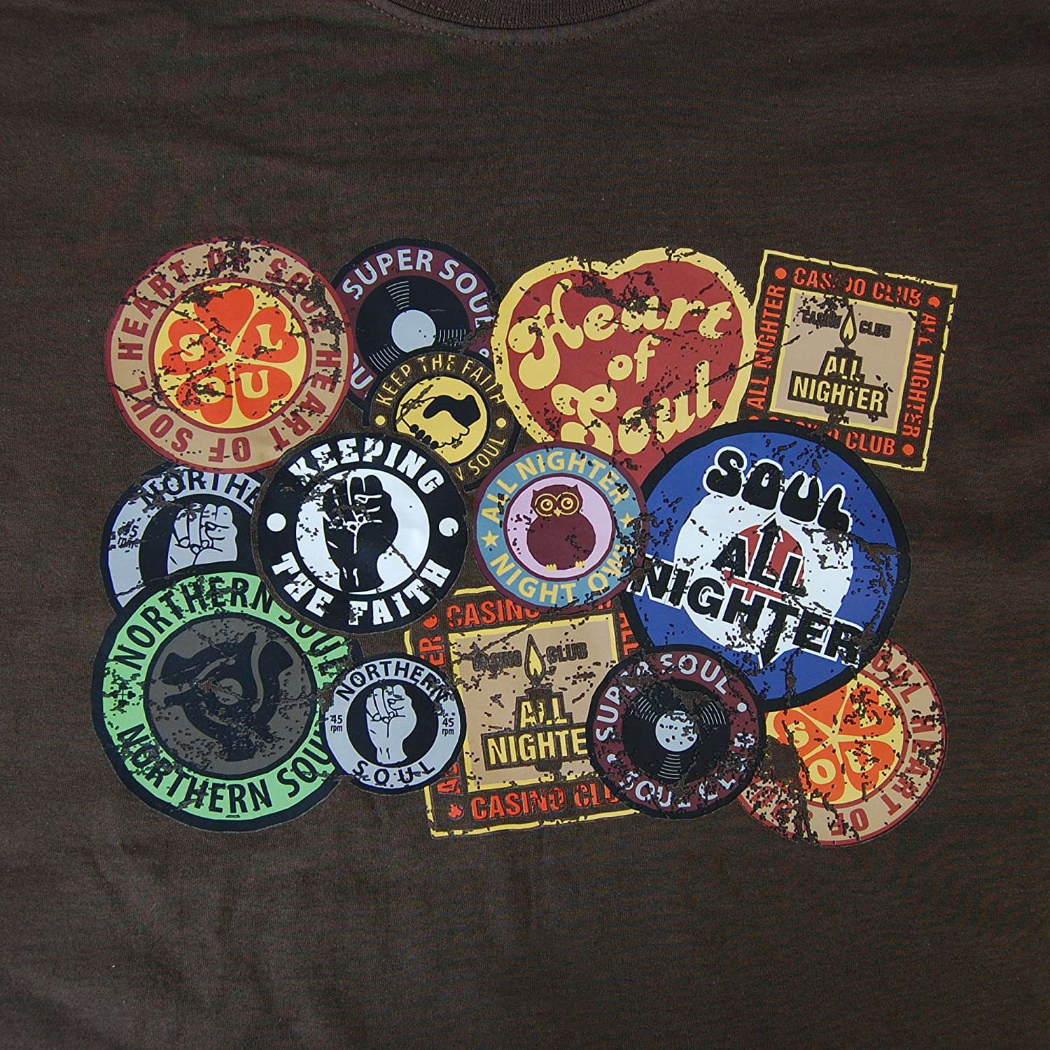 Pop Art Products Northern Soul - Camiseta Parche Insignia Parches ...