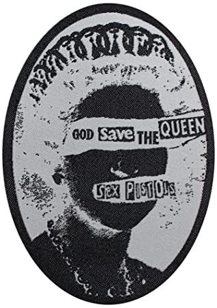 75d0357067 Sex Pistols - God Save The Queen Woven - Officially Licensed Original  Artwork