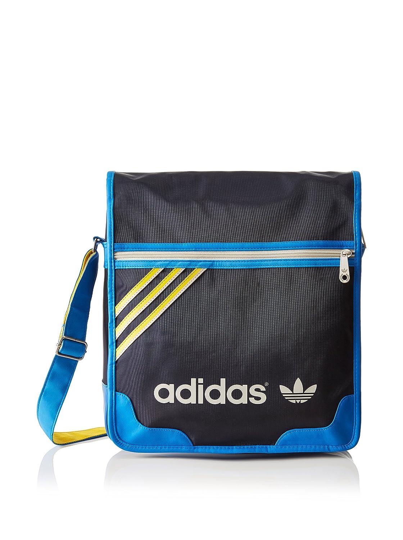 Adidas - Borsa Messenger a tracolla da uomo, taglia unica, colore: Blu, Blu (blue - Legend Ink S10/Bluebird/Sunshine/Bliss S13), Taglia unica F79673 F79673_NOIR-TU
