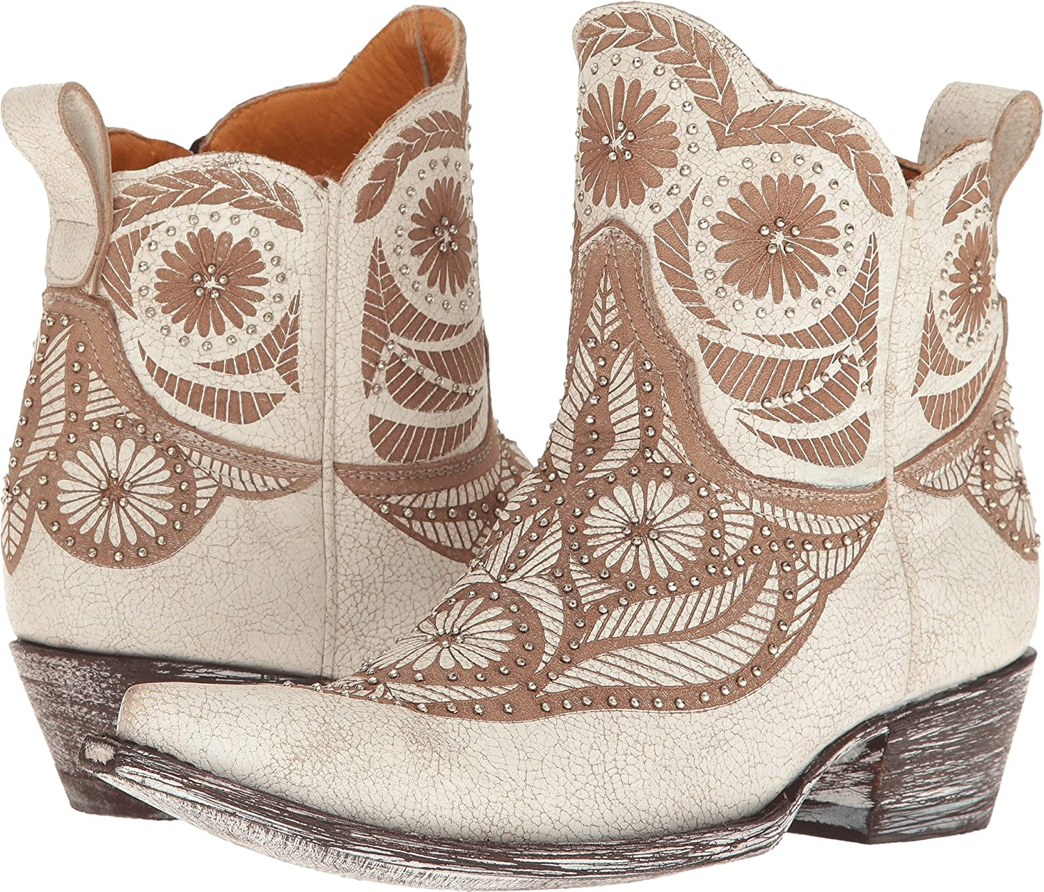Old Gringo Womens Valentine Dion B06XD5XPBT 8 B(M) US|Crackled Taupe