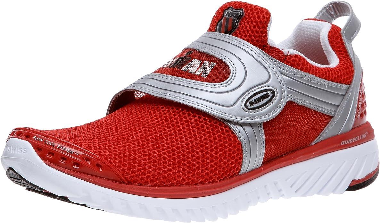 K-Swiss 2551 - Zapatillas de triatlón para Hombre, Color Rojo ...