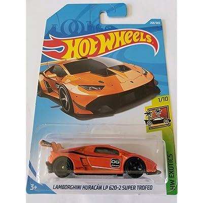 Hot Wheels 2020 Hw Exotics 1/10 - Lamborghini Huracan LP 620-2 Super Trofeo (Orange): Toys & Games