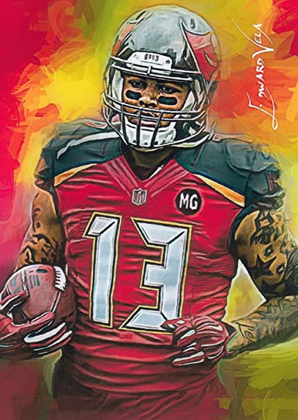 brand new f3625 d728f Mike Evans #1 - #3/5- SUPER RARE - Tampa Bay Buccaneers ...
